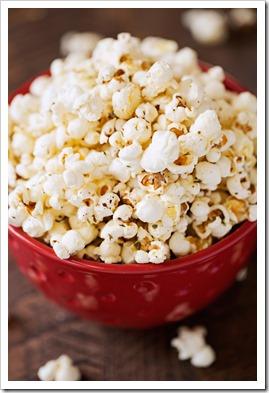 garlic parmeson popcorn